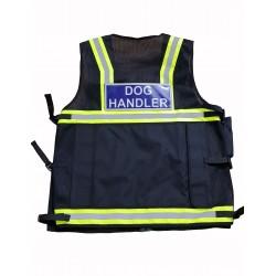 Trainer's Choice Embroidered Dog Handler Vest Hi Visibility Safety Vest