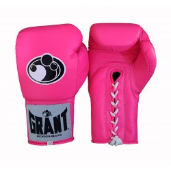 Pink Color Custom Professional Grant Boxing Gloves
