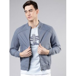 2020 wholesales in stock mens stylish denim jackets wind-proof chaqueta for men