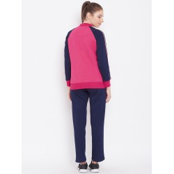 Custom logo women soft two piece plain training sports jogging sweatsuit set hoodie fleece gym track suit set