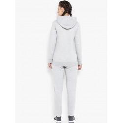 Custom bulk winter hoodies set wholesale sports sweat suits for women Custom tracksuit cotton fleece
