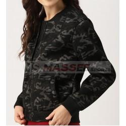Custom New Design Hot Sale Spring Autumn Luxury Ladies Camouflage Women Jacket