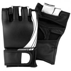 Liberlupus MMA Gloves, UFC Gloves for Men & Women, Kickboxing Gloves with Open Palms, Boxing Gloves for Punching Bag, Sparring, Muay Thai, MMA