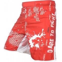 Digital Sublimation Grappling Kickboxing Mens Mma Short Fighting Custom Pattern Wrestling Shorts