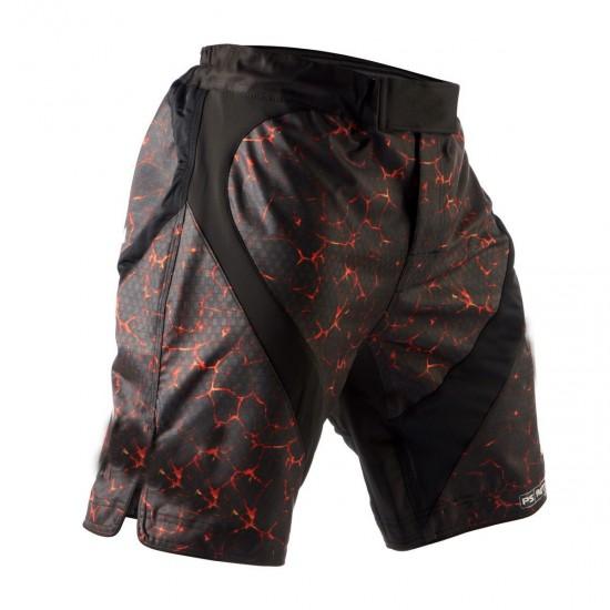 Professional Fighting Mma Shorts 36w Xl West Ham ICF Bjj Jiu Jitsu Kick Boxing Ufc Ksw Gym