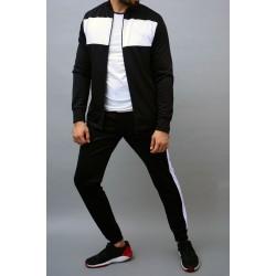 Factory wholesale fashion custom tracksuits sets for men breathable sports wear men sweatsuit set