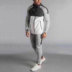 Custom Sportswear Long Sleeve Mens Tracksuit Sweat suit  Mens sweatsuit