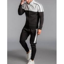 Hot Sale Customized Men Tracksuit/Men Fleece Lining Sweatsuit Custom Made Men Jogging Suit