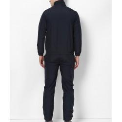 Custom Blank Sportswear Microfiber Polyester Zipper Jacket Mens Sports Tracksuit