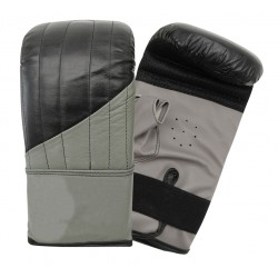 Boxing Gloves Punching Bag Sparring Training Mitts Black with Target