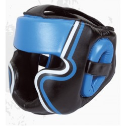 New Style black blue boxing head guard
