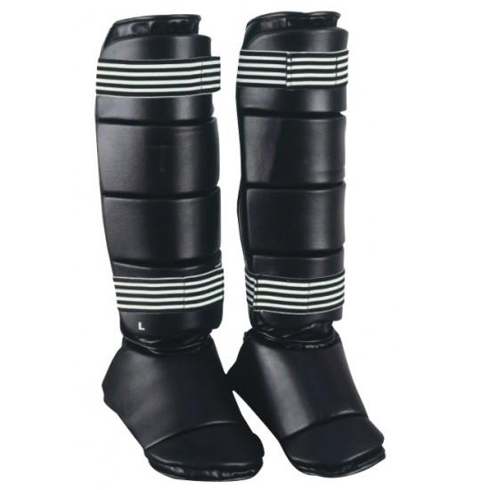 OEM design shin guards, shin instep, karate protection pads Shin instep guard Shin pad
