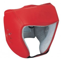Custom Professional Red Boxing Head Guards