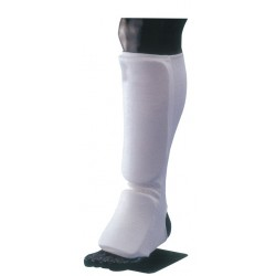 Customize Elastic Shin Guard Kick Boxing Shin Protectors Foot Pads Shin Instep