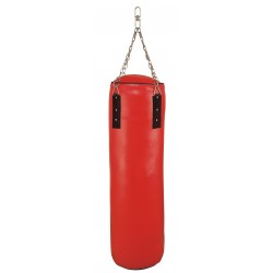 Wholesale oem custom logo pu artificial leather taekwondo thai boxing kicking heavy punching bag with filling