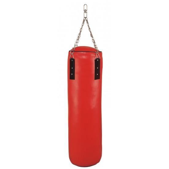 Wholesale oem custom logo pu artificial leather taekwondo thai boxing kicking heavy punching bag with filling