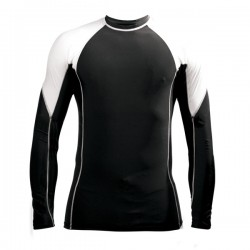Oem rash guard 100% polyester rash guard, Custom rash guard bjj