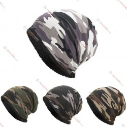 winter beanies camo color for unisex