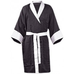 Martial Art Boxing Gown Hooded Satin Robe Gown Children  Youth Adults