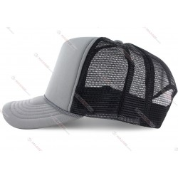factory low price various color options blank mesh trucker cap for heat-transfer or sublimation logo