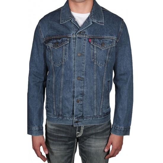 2019 Hot Sale man denim jacket blue jeans coat in Stock accept custom denim jacket men