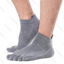 Men Socks 100% Cotton Ankle Dark Grey Wholesale Drop-shipping