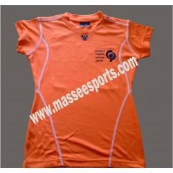 Squash Sports Polyester Dri-Fit Mesh T-Shirt