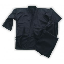 black color karate gi, custom karate uniform